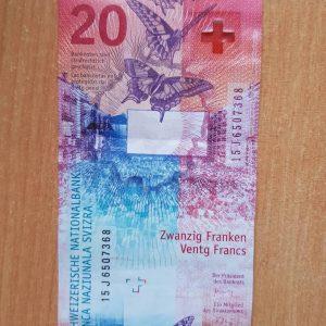 Achetez des francs suisses