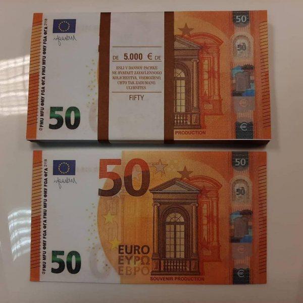 acheter de faux billets de 50 euros