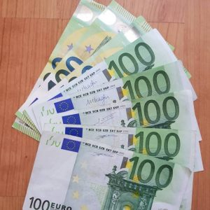 Billet euro 100 en vente