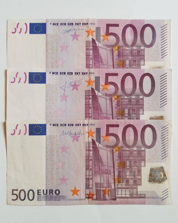 acheter de faux billets de 500 euros
