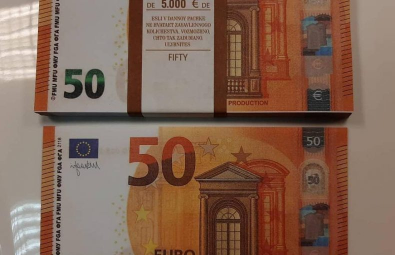 Acheter faux euro en ligne en France